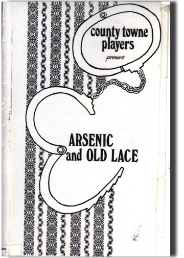 Arnesnic and Old Lace Playbill