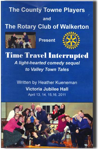Time Travel Interrupted Playbill